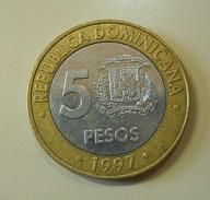 Dominicana 5 Pesos 1997 - Dominicana