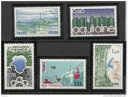 """FR YT 1863 à 1866 """" Régions Françaises """" 1976 Neuf** - Ungebraucht"""