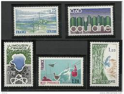 "FR YT 1863 à 1866 "" Régions Françaises "" 1976 Neuf** - Neufs"