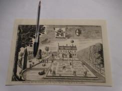 Bas-Warneton  -  Neerwaasten  - Oude Kaart Uit 1735 - Sonstige