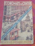 Catalogue Général Economats Du Centre 1935-1936 Mercerie Papeterie Parfumerie Confection Vaisselles Primes Cadeaux - Reclame