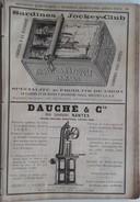 PUB 1889 - BOITES Métal Pour Conserves à Nantes, Sardines Jockey-Club Nantes 44, Rue Lavoisier Nantes - Publicités