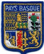 Très Bel écusson Sur Feutrine PAYS BASQUE, Dessins Très Fournis   (ec.3) - Ecussons Tissu