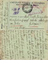 CARTOLINA CAMPO PRIGIONIERI POW CAMP WWI GORLITZ GERMANIA 1917 Da CHERASCO - 1900-44 Vittorio Emanuele III
