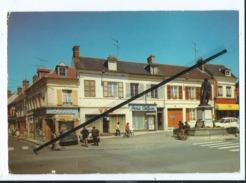 CPM -  Liancourt - Place De La Rochefoucauld Et Rue Pasteur - Liancourt