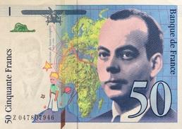 France 50 Francs, P-157Ad 1999 UNC - 1992-2000 Last Series