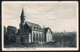 A5353 - Alte Ansichtskarte - Planitz Zwickau - Kapelle Der Babtisten Gemeinde - Atelier Plath - Zwickau