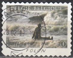 Belgique 2010 COB 4072 O Cote (2016) 1.70 Euro Folon La Mer Cachet Rond - Belgien