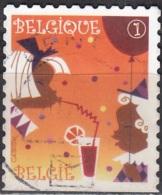 Belgique 2010 COB 4041A O Cote (2016) 1.25 Euro Timbre De Fête Cachet Rond - Belgium