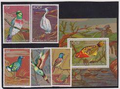 1978 Comores,Comorien - Birds Of Pray 5v.+sheet, Oiseaux, Vogels, Pajaros Yv 195/98/bl12 PA 130 MNH - Aquile & Rapaci Diurni