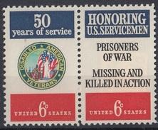 UNITED STATES 1023-1024,unused - Nuevos