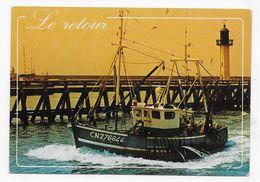 LE RETOUR DU CHALUTIER - CPM GF NON VOYAGEE - 75 - Fishing Boats