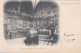 Germany Gruss Aus Koeln Goldene Kammer In St Ursula