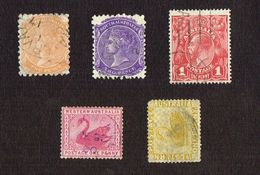 19 Stamps Australia - South Australia - Western Australia - Postage Australia - Australie