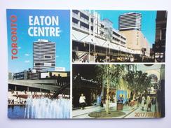 Postcard Toronto The Eaton Centre  My Ref B21729 - Toronto