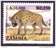 Zm1067 Zambia 2010, K10,000 Opt On K2,250 Hyena - Zambia (1965-...)