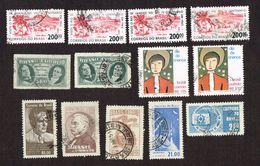 23x Stamps Brasil - AERONAUTICA - CORREIOS DO BRASIL - Brésil