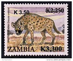Zm1128 ZAMBIA 2014, K3.50 On  K3,300 On K2,250 Animals  MNH (Issued 02-05-2014) - Zambia (1965-...)