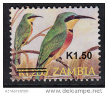 Zm1091 ZAMBIA 2013, SG 1091 New Currency K1.50 On K1,200 Birds  MNH - Zambia (1965-...)