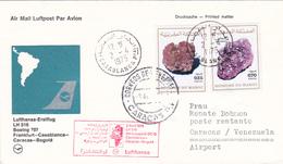 Maroc, Lufthansa Vol Inaugural 1975. - Maroc (1956-...)