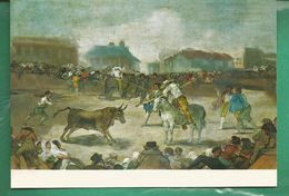 CP La Novillada Par GOYA / Museo De La Real Academia De Bellas Artes De San Fernando - Peintures & Tableaux