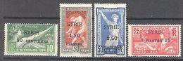 Syrie: Yvert N° 122/125* - Syria (1919-1945)