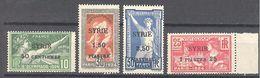 Syrie: Yvert N° 122/125**; MNH - Syria (1919-1945)