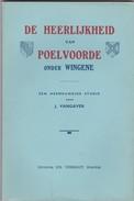 Wingene Heerlijkheid Poelvoorde + Foto In Boek Van  Poelvoorde Molen Blz 16 Moulin - Wingene