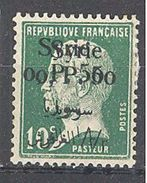 Syrie: Yvert N° 143b*; ; Variété Surcharge Renversée - Syria (1919-1945)