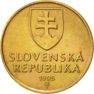 Slovaquie, Koruna, 1995, TTB+, Bronze Plated Steel, KM:12 - Slovakia