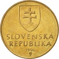 Slovaquie, Koruna, 1994, TTB+, Bronze Plated Steel, KM:12 - Slovaquie