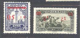 Syrie: Yvert N° 188 Et 190* - Syria (1919-1945)