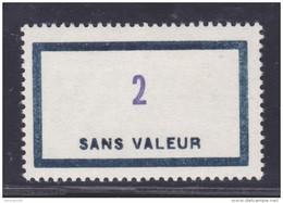 FRANCE FICTIF N° F153 ** MNH Timbre Neuf Gomme D´origine Sans Trace De Charnière -TB - Phantomausgaben