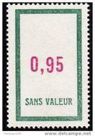 FRANCE FICTIF N° F157 ** Timbre Neuf Gomme D´origine Sans Trace De Charnière - TB - Phantomausgaben
