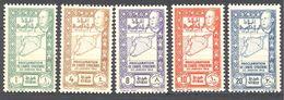 Syrie: Yvert N° 266/270**-; MNH - Syrien (1919-1945)
