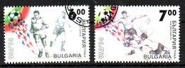 BULGARIE. N°3570-1 De 1994 Oblitérés. USA'94. - World Cup