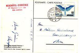 CP De Neuchatel_Poste Automobile (15.05.1938) Pour Berne - Suisse