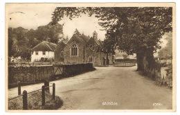 RB 1168 -  1950 Postcard - Williton Village & Church - Somerset - Altri