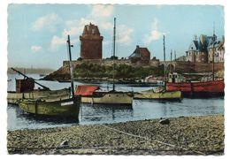 SAINT MALO--SAINT SERVAN--1964--Le Port Solidor à Marée Haute (bateaux) ....pas Très Courante - Saint Servan