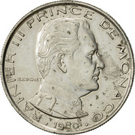 Monaco, Rainier III, Franc, 1960, SUP, Nickel, KM:140 - Monaco
