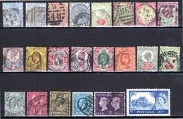 Grande-Bretagne Petit Lot De Timbres Tous Oblitérés Scan Recto Et Verso - Grande-Bretagne