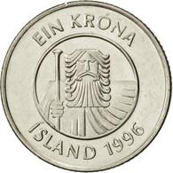 Iceland, Krona, 1996, SUP, Nickel Plated Steel, KM:27A - Island
