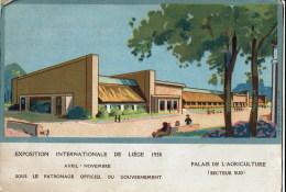 Liege 1930   Palais  De L'agriculture - Luik