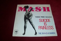 BO  DU FILM  M°A°S°H°  THEME FROM MASH  / SUICIDE IS PAINLESS - Soundtracks, Film Music