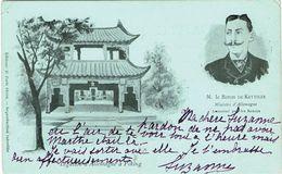 CTN-51A / 1900  REVOLTE DES BOXERS SOUVENIR DU BARON DE KETTELER - Cina