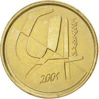 Espagne, Juan Carlos I, 5 Pesetas, 2001, Madrid, SUP, Aluminum-Bronze, KM:833 - [ 5] 1949-… : Royaume