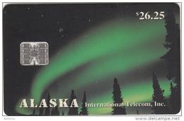 ALASKA - Northern Lights($26.25), Tirage 5000, 03/94, Mint - Phonecards