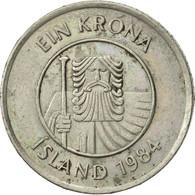 Iceland, Krona, 1984, TTB+, Copper-nickel, KM:27 - Island