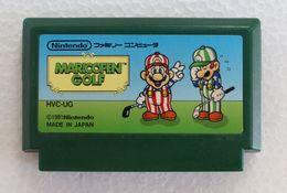 Famicom : Mario Open Golf HVC-UG - Electronic Games