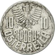 Autriche, 10 Groschen, 1977, Vienna, TTB, Aluminium, KM:2878 - Autriche